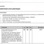 Checkliste Ladebrücken und Laderampen