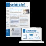 Gmbh-Brief AKTUELL, der Beratungsservice für Unternehmer und Geschäftsführer