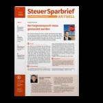Steuersparbrief AKTUELL, Steuerrecht, aktuelle Urteile, Handlungsanweisungen und Arbeitshilfen für Unternehmer
