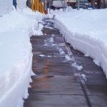 Winterdienst verkehrsberuhigte Zone