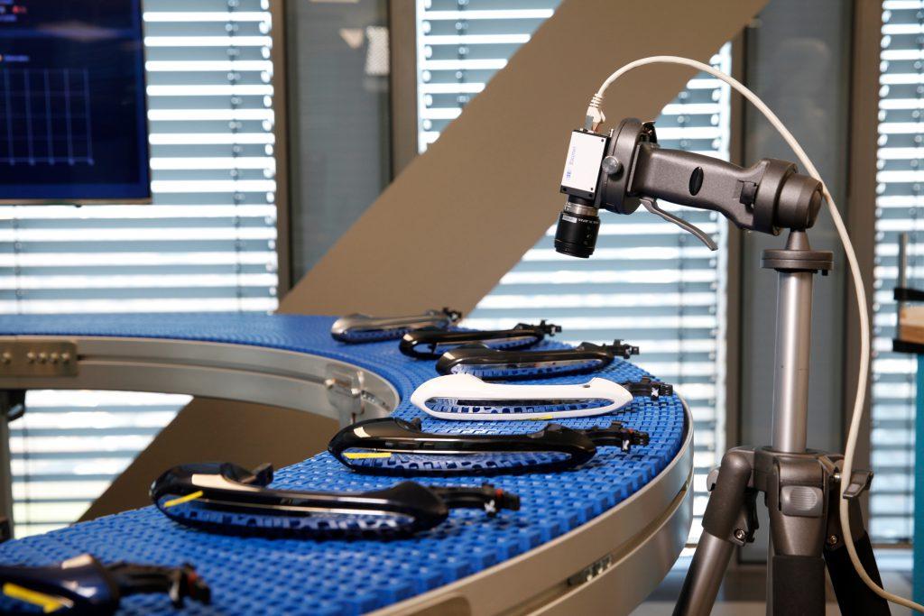 Die künstliche Intelligenz sorgt zuerst in der Industrie für Furore: Hier die Cognitive Visual Inspection von IBM.