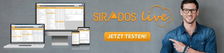 sirados live testen