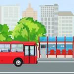 Wartehäuschen Bushaltestelle