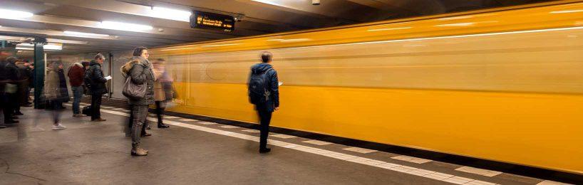 Jobticket, U-Bahnsteig