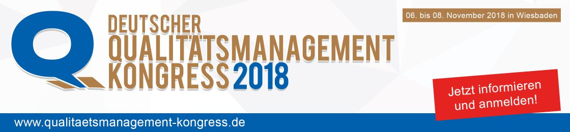 Deutscher Qualitätsmanagement Kongress 2018