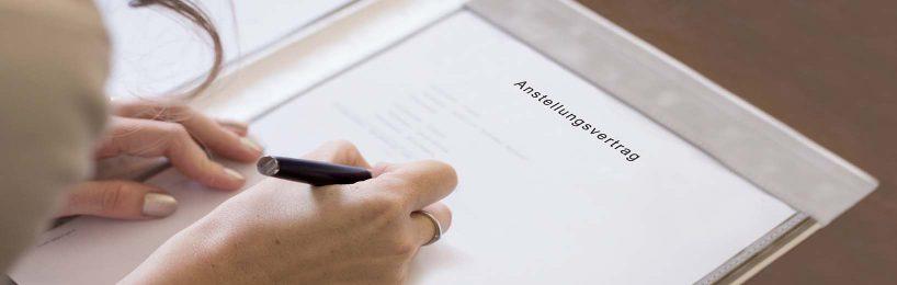 Anstellungsvertrag