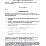 Muster für die Bestellung eines Gefahrgutbeauftragten