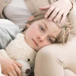 Kinderkrankengeld, Mutter pflegt krankes Kind zuhause