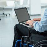 schwerbehinderte Menschen