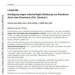 Im Fall Emmely ging es um die Kündigung einer Tengelmann-Kassiererin wegen der unberechtigten Einlösung von Pfandbons im Wert von 1,30 Euro.