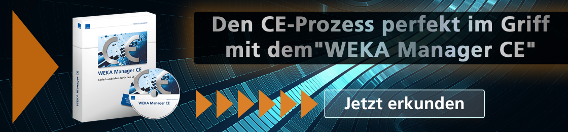 WEKA Manager CE - CE-Prozess im Griff