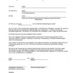 Bestellung Brandschutzbeauftragter - Muster