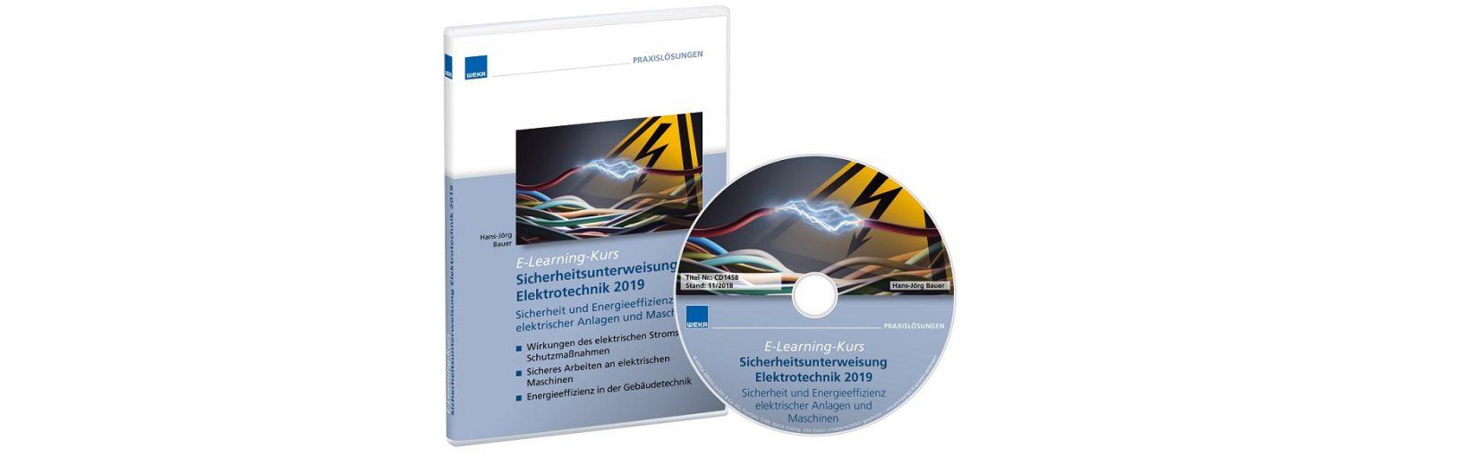 Die E-Learning-Lösung zur Selbstschulung der jährlichen Elektrotechnik-Unterweisungen.