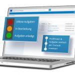 Die WEKA-Software unterstützt Elektrofachkräfte bei der Dokumentation der Prüfungen und erleichtert die Aufgabenverwaltung.