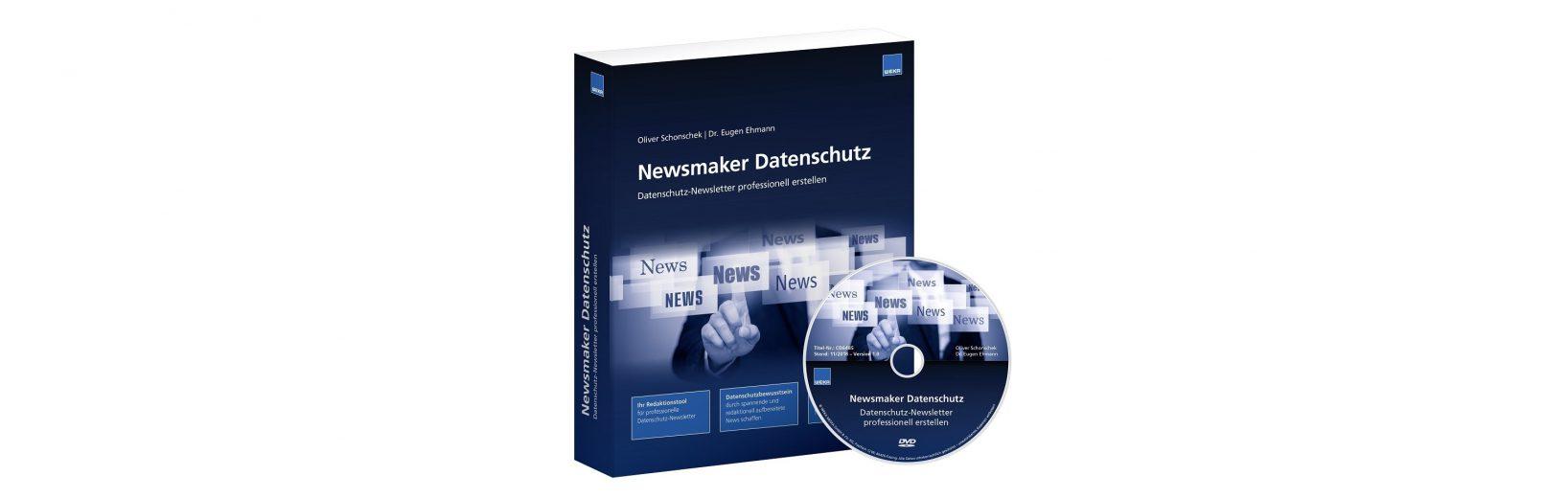 Das Redaktions-Tool zum Erstellen und Verschicken eigener Datenschutz-Newsletter.