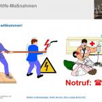 Gratis-Download: Unterweisungvorlage Erste-Hilfe-Maßnahmen bei Unfällen mit elektrischen Strom