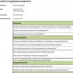 Checkliste Energiedatenmanagement