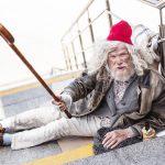 Belästigung durch Obdachlosen
