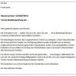 """Download: Musterschreiben """"Antrag auf Verlegung der Betriebsprüfung"""""""