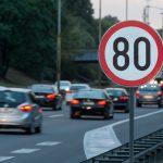 Ende der Geschwindigkeitsbeschränkung