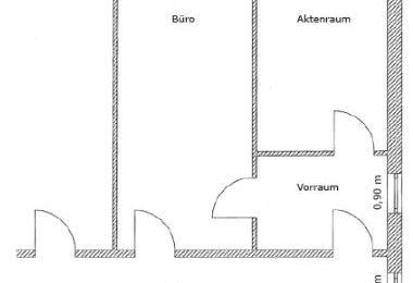 Gefangener Raum – Aktenraum