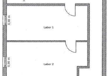Gefangener Raum – Laborraum