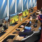 Internetcafé Spielhalle