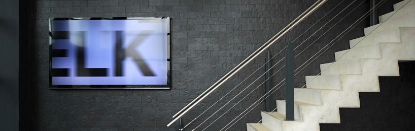 Monitore in Fluchtwegen