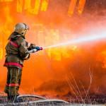 Feuerwehr Schaden am PKW
