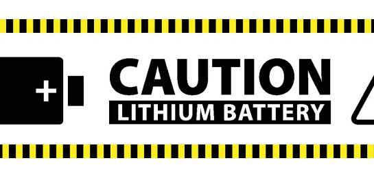 Litium-ionen Versand