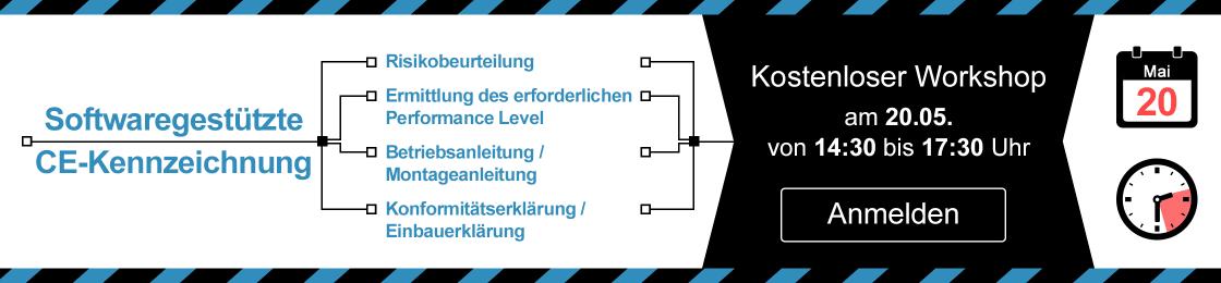 Roadshow CE-Kennzeichnung mit Software