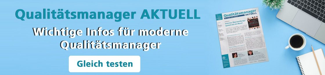 Qualitaetsmanager aktuell
