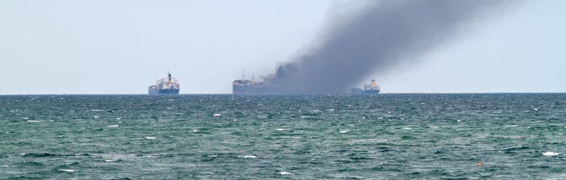 Gefahrgut auf See Unfall