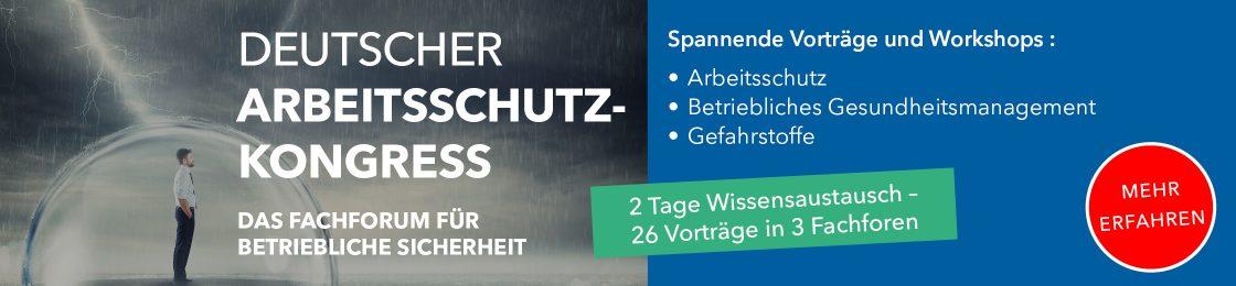 Deutscher Arbeitsschutzkongress 2019