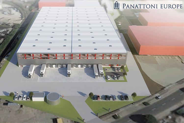 Logistikimmobilie für ABC-Logistik im Düsseldorfer Hafen von Panattoni