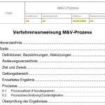 Verfahrensanweisung Messung & Verifizierung