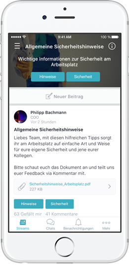 Mitarbeiter-Apps ermöglichen neue Formen der Kommunikation
