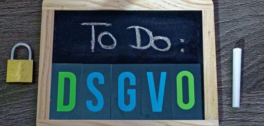 Webseiten DSGVO