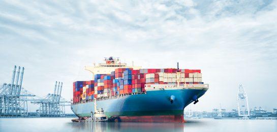 Containerschiff Gefahrguttransport