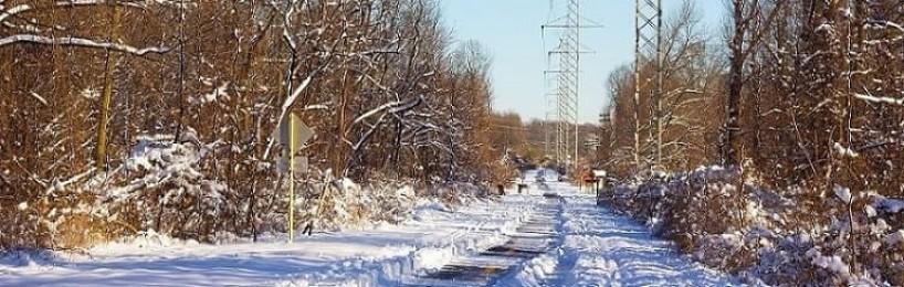 Winterdienst Feld- und Waldweg