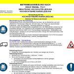 Muster-Betriebsanweisung hochsichtbare Warnkleidung