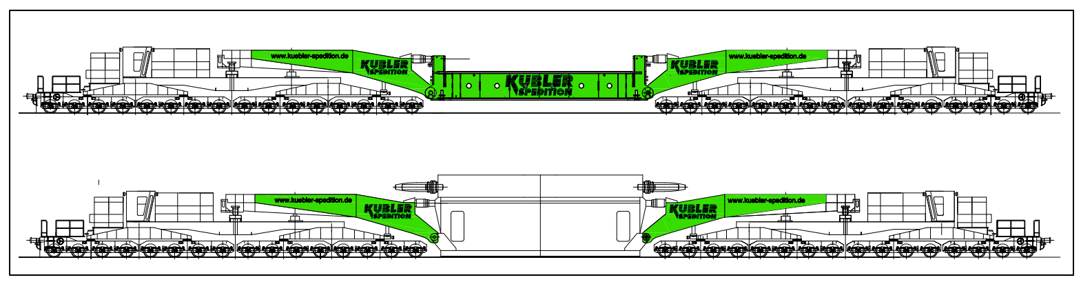 Neu im Kübler-Fuhrpark: der TSW500 mit 500 t Nutzlast