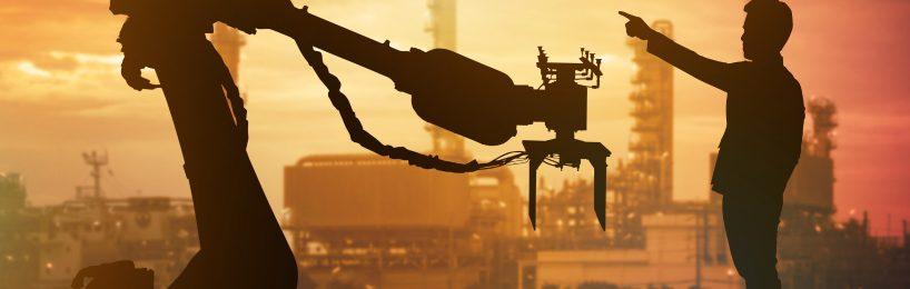 Arbeitsschutz 4.0: Der Mensch ist wichtiger als die Maschine - und sagt ihr, wo es lang geht.