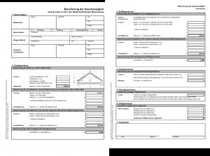 Baugenehmigung - Berechnung der Geschossigkeit