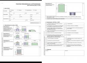 Baugenehmigung Checkliste Gebäudeklassen und Sonderbauten