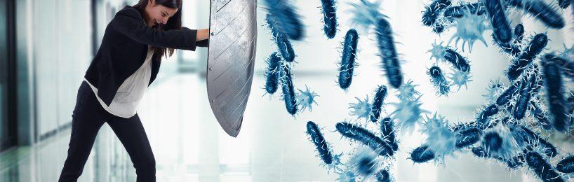 Hygienemaßnahmen sind ein wirksamer Schutz vor Infektionskrankheiten wie Corona.