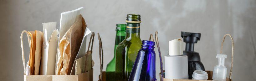 Mülltrennung: Papier, Glas und Plastik müssen in unterschiedliche Container