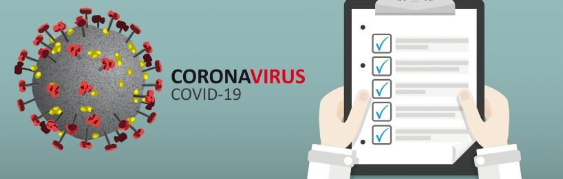 Checkliste mit Maßnahmen gegen das Coronavirus