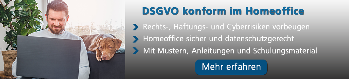 Datenschutz-Management Spezial: Homeoffice