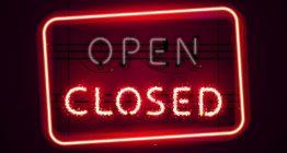 Spielhallen geschlossen